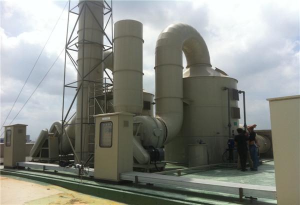 立式酸碱废气洗涤塔